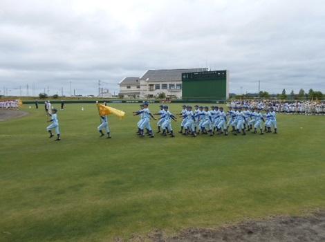 第41回日本リトルシニア野球選手権東北大会開会式